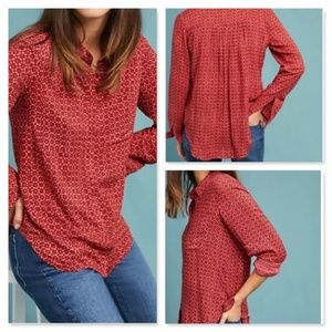 Holding Horses Sammie Printed Button Down Top